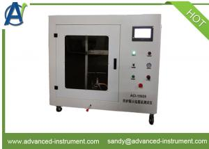 China Vertical Flame Spread Properties of Flexible Materials Test Equipment ISO 15025 on sale