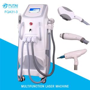 China FQA31-3 4in1 OPT e-light ipl rf nd yag laser hair removal multi functional beauty machine on sale