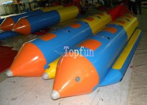 China Durable Inflatable Flying Fish / Banana Water Sled Inflatable Boat 8 seats / Pvc Inflatable Banana Boat on sale