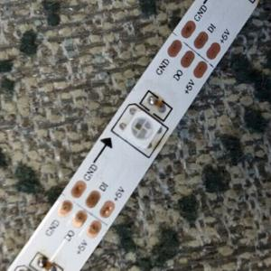 China madrix 5v led tape 60 pixels APA104 addressable led strip on sale