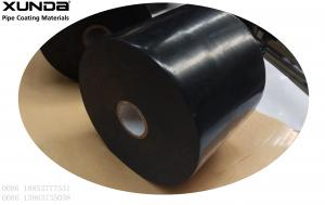 China Black Polymeric Tape Wrapping System For Corrosive Protective Steel Pipes According To Standard Awwa on sale