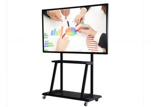 China 55 Inch Intelligent Smart Tech Whiteboard , Floor Standing Smart Board Monitor on sale