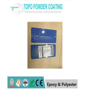 China Metal Decorative Powder Coating PANTONG2727C Blue Color With ROHS Approval on sale