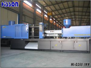 China Automatic PVC Hydraulic Injection Molding Machine With Vickers Valve on sale