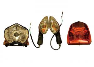 China High Performance Motorcycle Driving Lights , CB110 Motorcycle Turning Lamp on sale