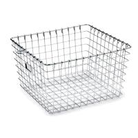 High Strength Metal Sterilization Trays Wire Basket Stackable For Washing Processes
