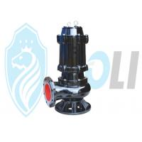 Non - Clog Submersible Drainage Water PumpsStainless Steel Material Explosion Proof