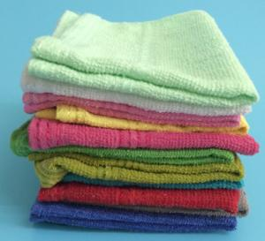 China Hot Sale 100% Plain Dyed Cotton Hand Towel on sale