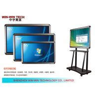 "IR Touch 65"" Portable Digital Signage Display Teaching LCD Media Player"