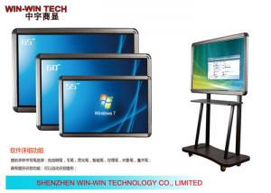 China IR Touch 65 Portable Digital Signage Display Teaching LCD Media Player on sale