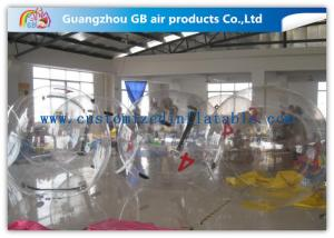 China PVC / TPU Float Water Human Inflatable Rolling Ball , Water Splash Ball For Adults on sale
