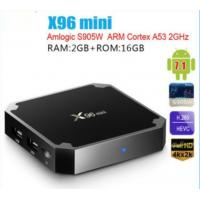 Amlogic S905W Quad Core Hot sale Wifi X96 mini Android  Network IP TV BOX Android 7.1 TV 4K HD  TV BOX 2G Ram 16G Flash