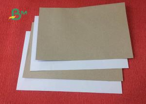 China Recycle pulp 250gsm 270gsm Thickness Duplex Board Whit Grey Back on sale