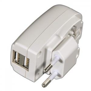 China 2 Port Usb Power Adaptors For Charging MP3 Players/Mobile Phones/Navigation systems on sale