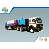 High Efficiency Oilfield Vehicles Sand Washing Truck , Oilfield Trucks