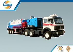 China High Efficiency Oilfield Vehicles Sand Washing Truck , Oilfield Trucks on sale