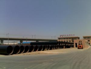 China DIN30670 PE Coated  Hot Rolled API 5L / API Pipe For Gas , petroleum products on sale