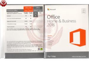 China Genuine Office 2016 home and business for mac PKC version software on sale