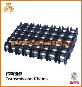 China Oil Drilling Rig Spare Part Oil Field Chain on sale