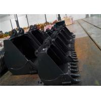 Any Brand Excavator Digging Bucket For Backhoe 0.4-8m3 Capacity Custom Size