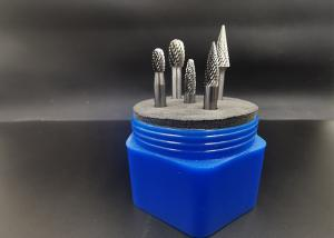 China F Shape YG6 Tungsten Carbide End Mill For Mold Grinder on sale