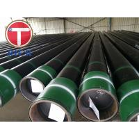 China Round Shape Seamless Steel Tube for Oil Pipeline API5CT-0735 J55 K55 N80 on sale