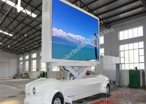 China Digital Truck Mobile LED Display WIN98 / 2000 / NT / XP Operating System on sale