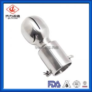 China Welded Sanitary Tank Fittings Clip On Connection Sanitary Spray Balls on sale