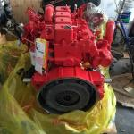Red Turbocharged 4 Cylinder Engine Replacement 4BT 3.9L Euro 3 Emission