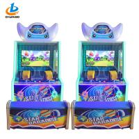 Blue Electric Lottery Game Machine / Monster Shooting Game Machine