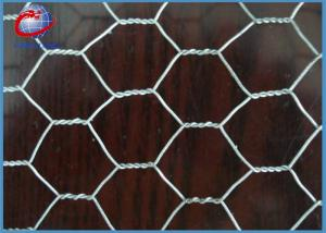 China Woven Galvanized Chicken Wire Garden Fence For Cages 0.5 X 10m X 25 X 25mm on sale