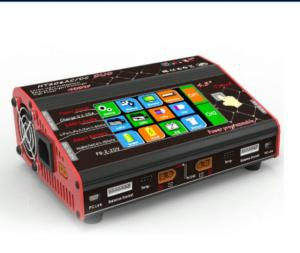 China HT206 Double ports Touch Screen Lipo Charger for balance , Max power 200W*2 on sale