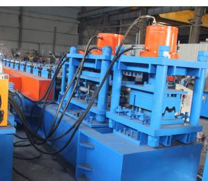 China Direct factory manufacture high quality road 2 or 3 waves beam roll forming machine for making safety fence on sale