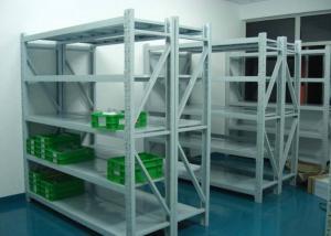 China L2000*W450 Steel Storage Shelves / Adjustable Metal Shelves Anti Rust on sale