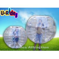 Kids Customized Red Inflatable Human Ball , Inflatable Pool Zorb Hamster Ball