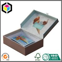 Eco-friendly White Paper Gift Box with Lid for Jewelry; Custom Design Gift Box