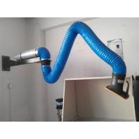 China Flexible Suction Arm for smoke extraction and Dust collector arm, wall mounted arm on sale