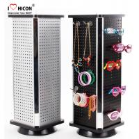 Fashion Accessories Display Stand Metal Counter Rotating For Promotion