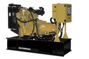 China Caterpillar Olympian Genset Diesel Generator , Water Cooled on sale