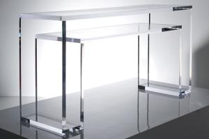 China Clear Table Custom Acrylic Products Display Stand For Promotional on sale