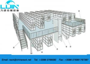 China Multi Tire Rack Supported Mezzanine For Space Saving Corrosion Resistance on sale