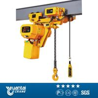China YT Lifting machine electric chain hoist 3ton 5ton 10ton with motor trolley on sale