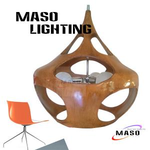 China Hot sale Project Indoor Resin Pendant Lamp Maso MS-P1047L E27 LED 5w Three Light Sources on sale
