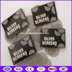 China 15mm cigarettes stainless steel silver filter screens made in china on sale