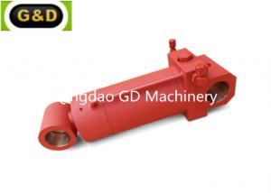 China Hard chrome plated welded hydraulic cylinder for agriculture equipment on sale