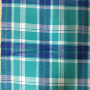 China 100% Cotton Flannel Yarn Dyed Fabric Skin Friendly For Girls And Women Dress on sale