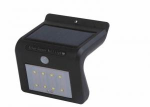 China Waterproof Solar Powered Motion Sensor Light / Solar Motion Detector Lights on sale