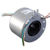 China Hallow Shaft Slip Ring With 50mm Precious Metal Material For Medical Equipment on sale