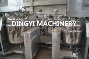 China Steam Heating Shampoo Production Line , Liquid Detergent Making Machine 220V/380V on sale