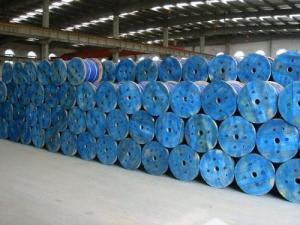 China ACSR Zinc coated Steel core wire strand 7×2.68mm, ASTM B 498 on sale